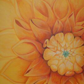 I en blomst